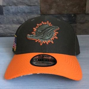 Miami Dolphins 39THIRTY Salute to Service Hat